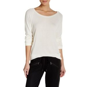 DAVID LERNER long raglan sleeve sweater pullover S